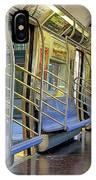 New York City Empty Subway Car IPhone X Case