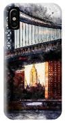 New York Panorama - 30 IPhone Case