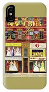 New Yorker April 27th 1946 IPhone X Case