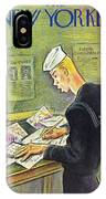 New Yorker February 14th 1942 IPhone X Case
