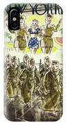 New Yorker November 7th 1942 IPhone X Case