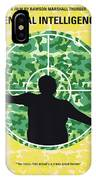 No1049 My Central Intelligence Minimal Movie Poster IPhone Case