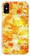 Oak Leaf Pattern IPhone Case
