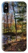 October Late Afternoon IPhone Case by Kendall McKernon