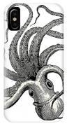 Octopus Octopus Vulgaris - Vintage IPhone Case