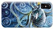 Octopus Of Nine Brains IPhone Case