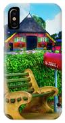 Old Dutch Cottage Painting IPhone Case