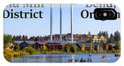 Old Mill District Bend Oregon IPhone Case