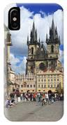 Old Town Square Prague Czech Republic  IPhone Case