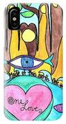 One Love One Earth IPhone Case