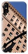 One Way Golden Architecture  IPhone Case