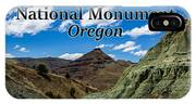 Oregon - John Day Fossil Beds National Monument Blue Basin IPhone Case