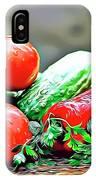 Organic Veg IPhone Case