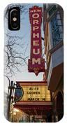 Orpheum Theater Madison, Alice Cooper Headlining IPhone Case