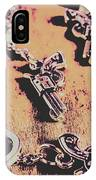 Outlaw Frontiers IPhone Case