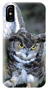 Owls Mascot 2 IPhone Case