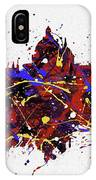 Oxford Colorful Skyline IPhone Case