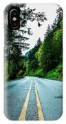 Pacific Northwest Road IPhone Case