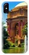 Palace Of Fine Arts Lagoon IPhone X Case