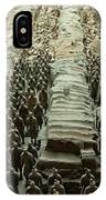 Panorama Of Pit 1, Terra Cotta Warriors IPhone Case
