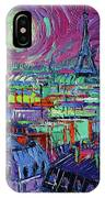 Paris By Moonlight IPhone Case