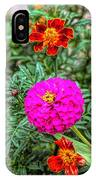 Pastel Wild Flowers IPhone Case