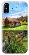 Peaceful Country Morning IPhone Case