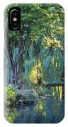Peaceful Oasis - Japanese Garden Lake IPhone Case