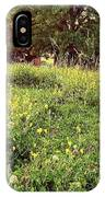 Peaceful Pastoral Perspective IPhone Case by Carol Whaley Addassi