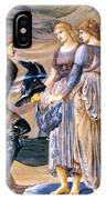 Perseus And The Sea Nymphs 1877 IPhone Case
