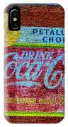 Petalima's Drink Coca-cola IPhone Case