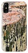 Pilings In Abstract IPhone Case