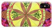 Pine Cone Mandala IPhone Case