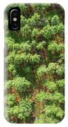Pine Rows Aerial 2x1 IPhone X Case