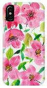 Pink Spring IPhone Case