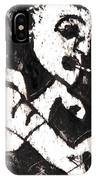 Pipe After Mikhail Larionov Black Oil Painting 4 IPhone Case