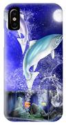 Pisces IPhone Case by Mark Taylor