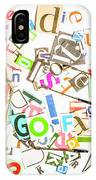 Play On Golf Words IPhone X Case