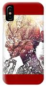 Pondering Fall IPhone Case