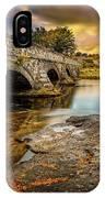 Pont Pen-y-llyn Bridge Snowdonia IPhone X Case