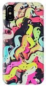 Pop Art Moes IPhone Case