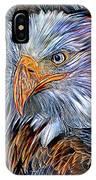 Portrait Of A Watchful Eye IPhone X Case