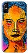 Portrait Of A Woman 1139 IPhone Case