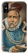 Portrait Of Tycho Brahe IPhone X Case