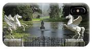 Powerscourt House Terrace And Fountain IPhone Case