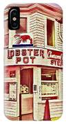 Provincetown Tradition Lobster Pot IPhone Case