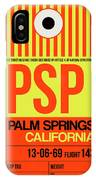 Psp Palm Springs Luggage Tag I IPhone Case