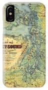 Puget Sound IPhone Case