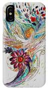 Pure Abstract #4. Trumpeting Angel IPhone X Case