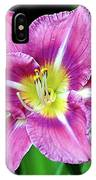 Purple And Yellow Flower IPhone Case